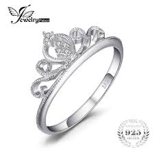 promise engagement rings images Jewelrypalace crown round anniversary promise engagement ring for jpg