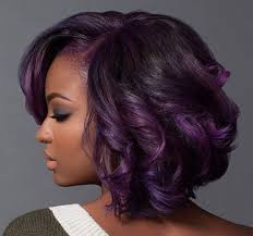 black women with purple hair the 25 best black girl short hairstyles ideas on pinterest bob