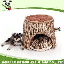 innovative pet tree trunk shape house soft house for small dog cat