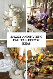 fall table centerpieces 30 cozy and inviting fall table décor ideas digsdigs