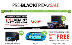 ps4 black friday sale gamestop pre black friday 2015 deals amp up the savings