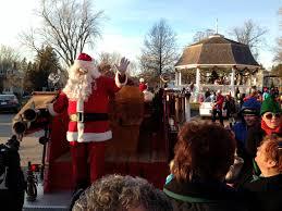 christmas tree lighting jingle bell walk u0026 visit with santa