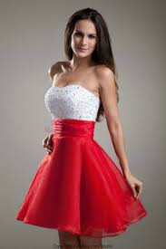 white dress with red trim cocktail google search fashion