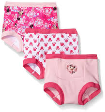 Minnie Mouse Clothes For Toddlers Amazon Com Disney Girls U0027 Minnie Mouse 3pk Training Pant Clothing