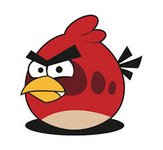 red angry bird vector vector free download