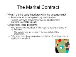 Engagement Gift From Parents Legal Considerations In Marriage And Divorce Ppt Video Online