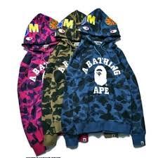 new bape ape head men women hoodie jacket sweater for sale