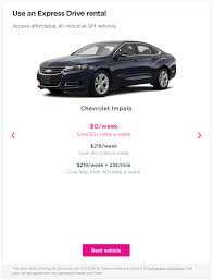 how to sign up for lyft gm express drive rental program