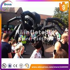 collection of giant inflatable spider halloween 25 ft giant