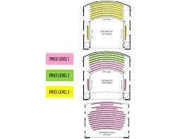 fred kavli theater seating chart pacific festival ballet presents