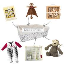 create your own gift basket build your own baby gift basket josh nursery decor and