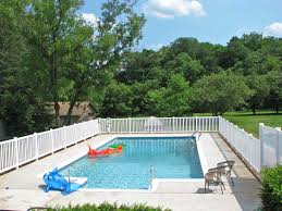 Landscaping Around Pools by Swimming Pool Fences Poly Enterprises
