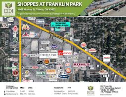 Franklin Ohio Map by Shoppes At Franklin Park U2013 Eidi Properties