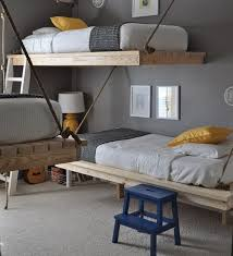 How To Make A Hanging Bed Frame Hanging Rope Beds Hanging Rope Lofts And Ceilings