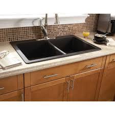 black undermount kitchen sink composite granite