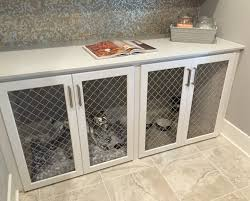 under counter dog cage crate animals pinterest dog cages
