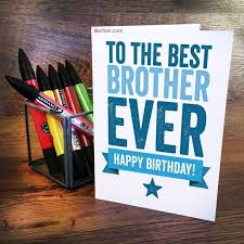 to the best brother ever happy birthday golfian com