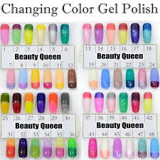 upgraded fast changing gel color chameleon nail gel polish soak