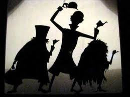 halloween hitchhiking ghosts window silhouette youtube