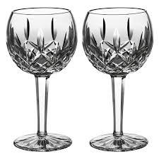 le cadeaux fleur polycarbonate 15 oz wine glasses set of 6