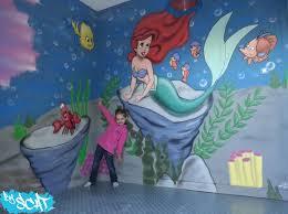 fresque chambre fille byscat fresques et décorations personnalisées