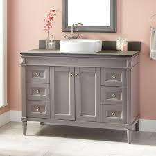 Grey Bathroom Vanity by 48
