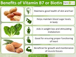 8 incredible biotin vitamin b7 benefits organic facts