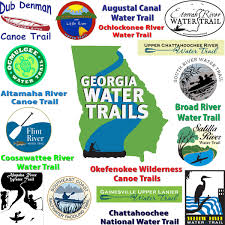Georgia River Map Georgia Water Trails
