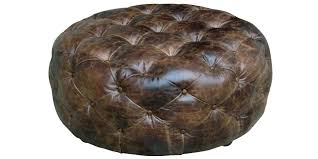large leather tufted ottoman tufted leather coffee table tufted leather ottoman coffee table