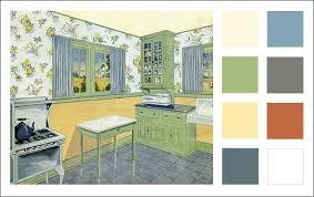 home interior color schemes 1929 kitchen color scheme vintage color antique home style