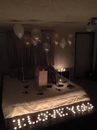 Valentines Day Decor On Pinterest by Best 25 Romantic Surprise Ideas On Pinterest Indoor Date Ideas