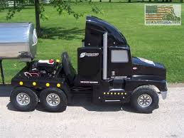 kenworth tractor trailer kenworth semi truck go kart