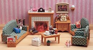 Sylvanian Families Victorian Living Room Set Amazoncouk Toys - Victorian living room set