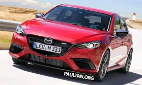 brand new mazda 3 mazda 3 mps rendered hatch to revive mps badge