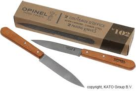 opinel kitchen knives uk opinel office knives set of 2 n 102 carbon steel