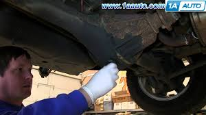 how to service change gear oil rear differential suzuki xl 7 and