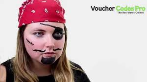 how to easy pirate face paint fancy dress halloween make up