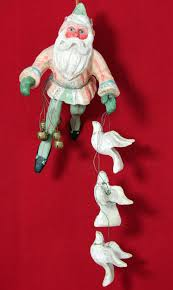 house of hatten ornament santa calla doves bells