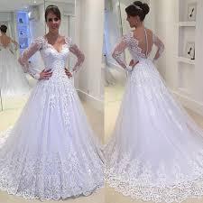 online wedding dresses discount 2017 see through button back wedding dresses vestios
