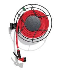 wall mount garden hose reel home design ideas and pictures