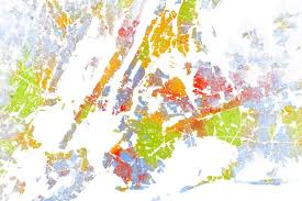 york map us the best map made of america s racial segregation wired