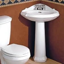 Kohler Pedestal Bathroom Sinks Small Corner Pedestal Bathroom Sinkcorner Bathroom Sinks For Small