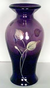 Blue Vase Marketing Beverly Ma Purple Fenton Spiral Vase Purple Glass 189 Purple Glass