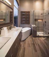 what color goes with brown bathroom cabinets 75 beautiful bathroom with brown cabinets pictures ideas