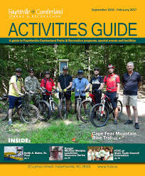 fayetteville cumberland parks u0026 recreation activities guide sept