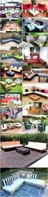 repurposed wood pallet outdoor furniture ideas diy motive