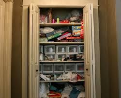 turn coat closet into pantry