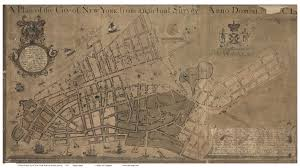 New York City Map Of Manhattan by A Walking Tour Of 1767 New York Curbed Ny