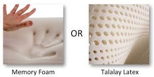 talalay latex mattress vs foam mattresses natural sleep luxury