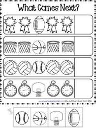 sports addition kindergarten addition math worksheets and